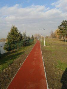 Téli futás - Rekortán pálya Budakalászon