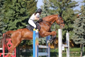 lovaglás, díjugratás, versenyzés, Fouganza