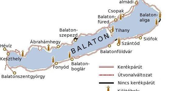 kerékpárral a balaton körül térkép Sportos bakancslista   kerékpárral a Balaton körül   Decathlon Blog kerékpárral a balaton körül térkép