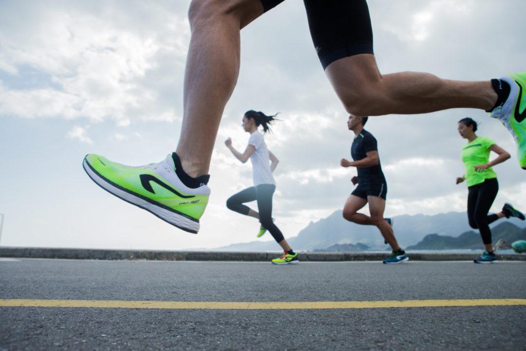 Kiprun futócipő, maraton négy órán belül