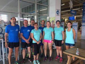 Maratoni táv - közösségi futás