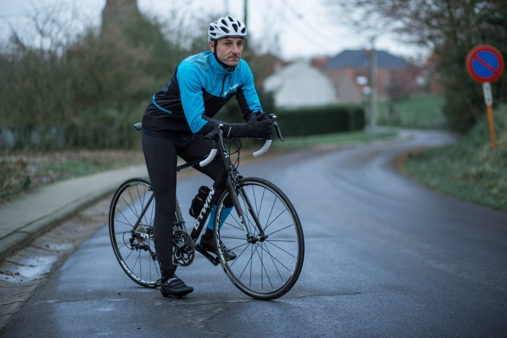 Őszi kerékpáros ruhakörkép - kabát