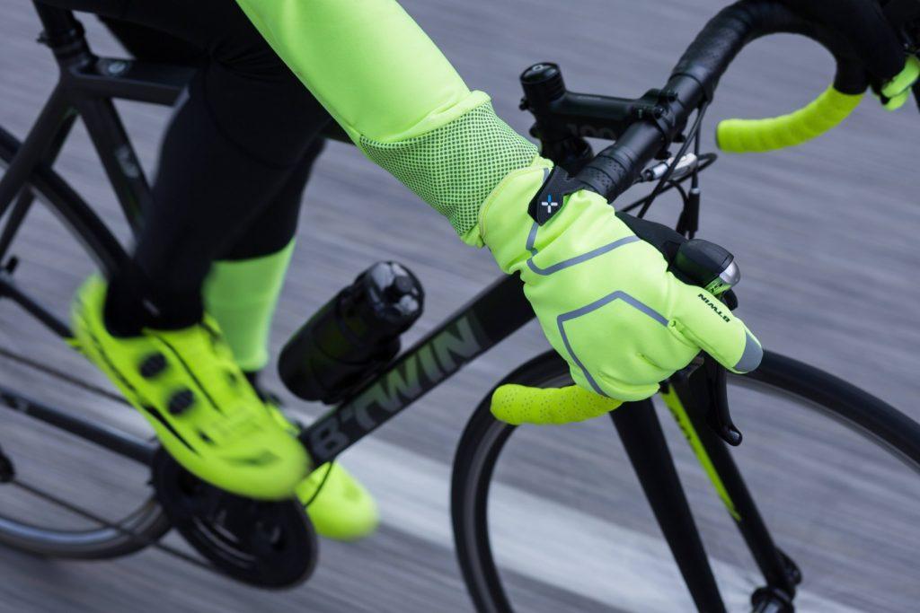 Őszi kerékpáros ruházat - kesztyű