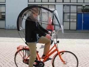 Kerékpáros esőkabát vs poncsó