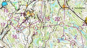 Tájfutó edzőtábor Norvégiában