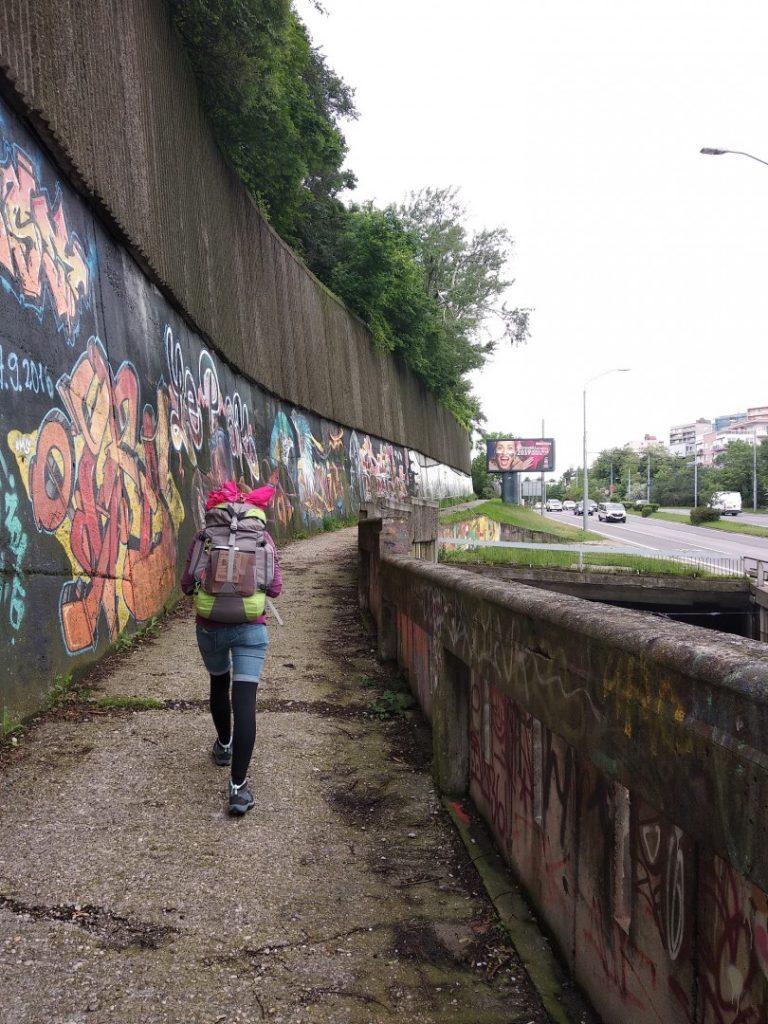 Hátizsákos utazás - Backpacking a városban