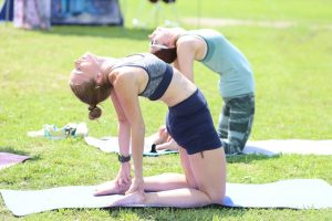 A Peaceful Triathlon futás, jóga és meditáció hármasából áll