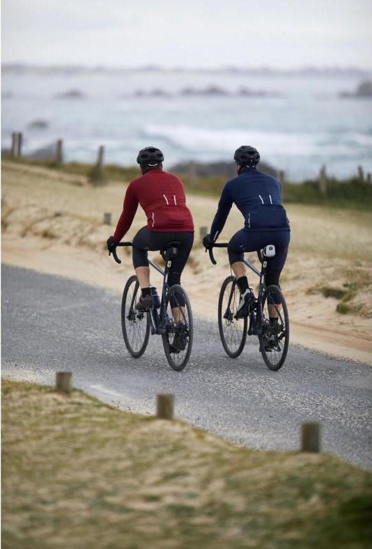 Őszi kerékpáros öltözködés