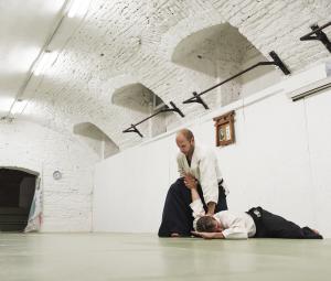 Az aikido maga is egy mozgásos meditáció