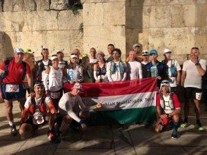 A magyar csapat a Spartathlonon