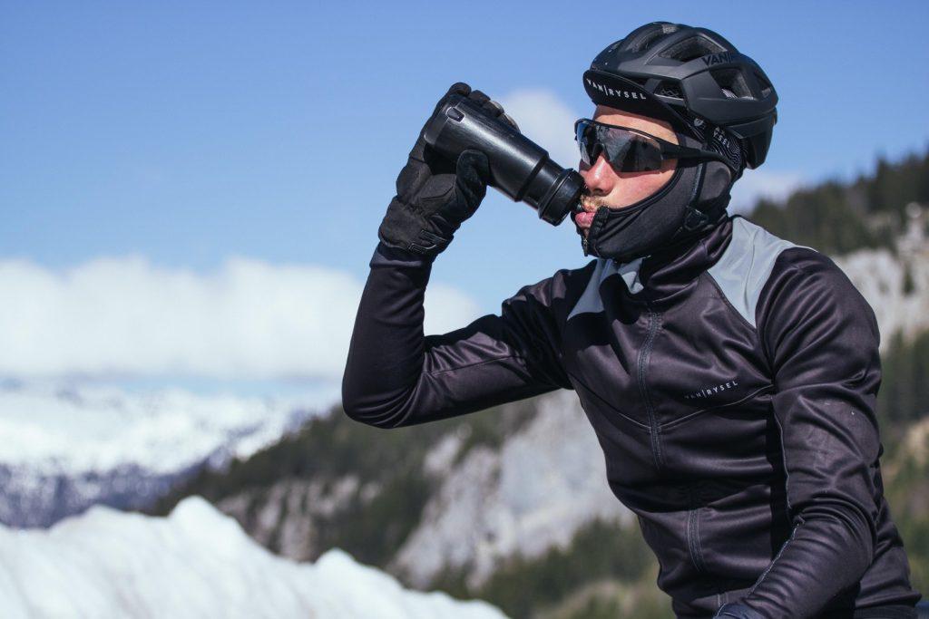 Téli kerékpározás - Ital, étel edzéshez